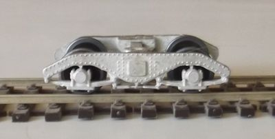 BOGIE KIT HO STRATH D12 SAR BRILL 75 TRAILER BOGIES KIT WITH WHEELS HO