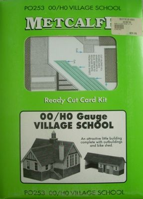 BUILDING KIT OO METCALFE COUNTRY SCHOOL PO253 HO