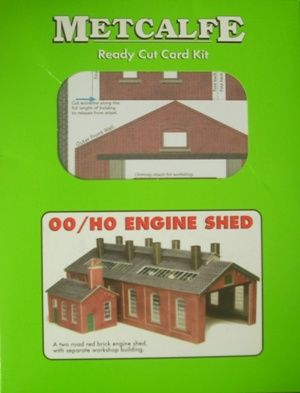 BUILDING KIT OO METCALFE PO213 ENGINE SHED OO