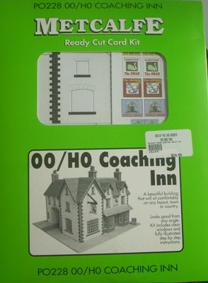 BUILDING KIT OO METCALFE PO228 COACHING INN OO