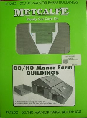 BUILDING KIT OO METCALFE PO252 MANOR FARM BUILDINGS OO