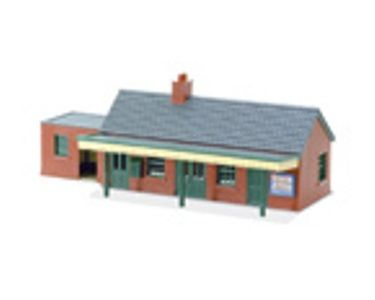 BUILDING KIT OO PECO BRICK COUNTRY STATION EA