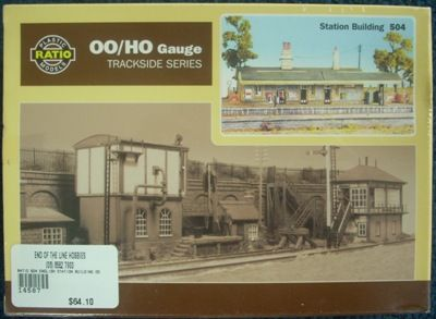BUILDING KIT OO RATIO 504 ENGLISH STATION BUILDING OO