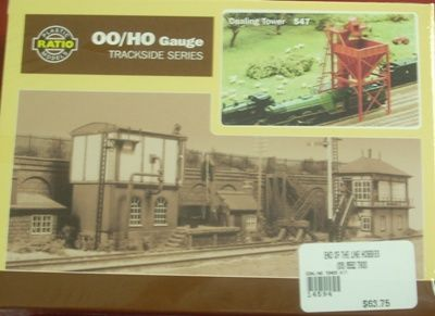 BUILDING KIT OO RATIO COALING TOWER KIT OO