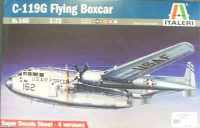 KIT 172 ITALERI 146 C 119G FLYING BOXCAR KIT 172