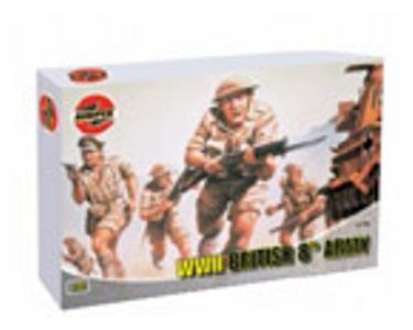 KIT 176 AIRFIX 8TH ARMY FIGURES KIT