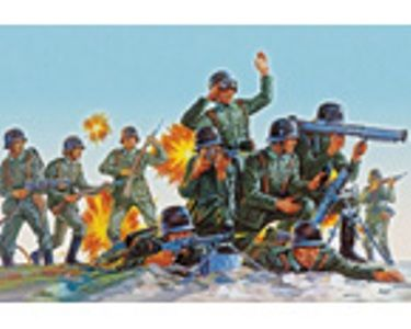 KIT 176 REVELL GERMAN INFANTRY WW2 2598 176