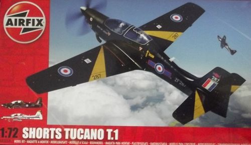 MILITARY   AIRFIX 03059 SHORTS TUCANO KIT 172