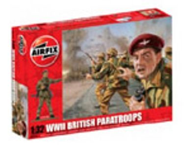 MILITARY   AIRFIX A02701 WWII BRITISH PARATROOPS 132