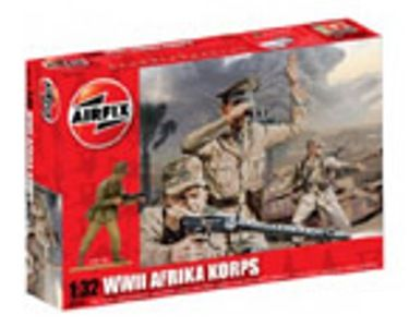 MILITARY   AIRFIX A02708 WWII AFRIKA KORPS 132