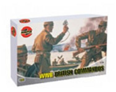 MILITARY AIRFIX 01732 BRITISH COMMANDOS 172