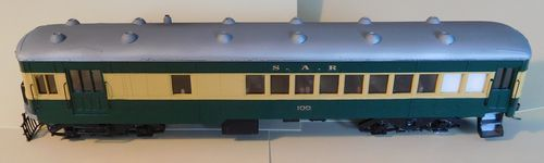 RAILCAR KIT STRATH SAR BRILL 75 NG RAILCAR 100 KIT SN35