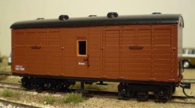 SAR WAGON KIT STRATH SAR HB NG HORSE BOX KIT SN35