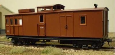 SAR WAGON KIT STRATH SAR NG GOODS BRAKE VAN 4894 KIT SN35