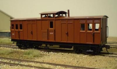 SAR WAGON KIT STRATH SAR NG GOODS BRAKE VAN KIT SN35