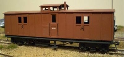 SAR WAGON KIT STRATH SAR NG PASS BRAKE VAN KIT SN35