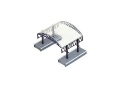 STRUCTURE BU OO HORNBY R334 STATION CANOPY KIT OO
