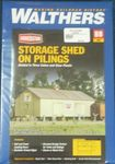 BUILDING KIT HO CORNERSTONE CO-OP STORAGE SHED KIT 3529 HO