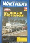 BUILDING KIT HO CORNERSTONE ICEHOUSE & PLATFORM KIT 3049 HO
