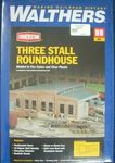 BUILDING KIT HO CORNERSTONE ROUNDHOUSE 3 STALL 933-3041 HO