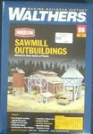 BUILDING KIT HO CORNERSTONE SAWMILL OUTBUILDINGS KIT 3144 HO