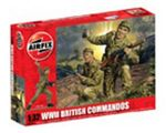 MILITARY - AIRFIX A02705 WWII BRITISH COMMANDOS 1:32