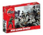 MILITARY - AIRFIX WWII GERMAN INFANTRY 2702 1:32