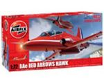MILITARY AIRFIX BAE RED ARROWS HAWK 1:72