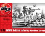 MILITARY AIRFIX WWII BRITISH INFANTRY NORTH EUROPE 1:72